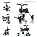 TRICYCLE KIDS NEW DESIGN FOLDING TRICYCLE SIMPLE AND CHEAP TRICYCLE FOR KIDS