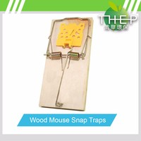 High Quality Wholesale Factory Price Is Simple To Use Rat Killer Products Wooden Mouse Trap Used Pest Control Equipment