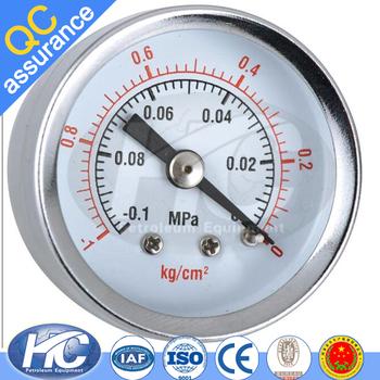Instruments To Measure And Display Pressure Vacuum Gauges Bourdon Gauge