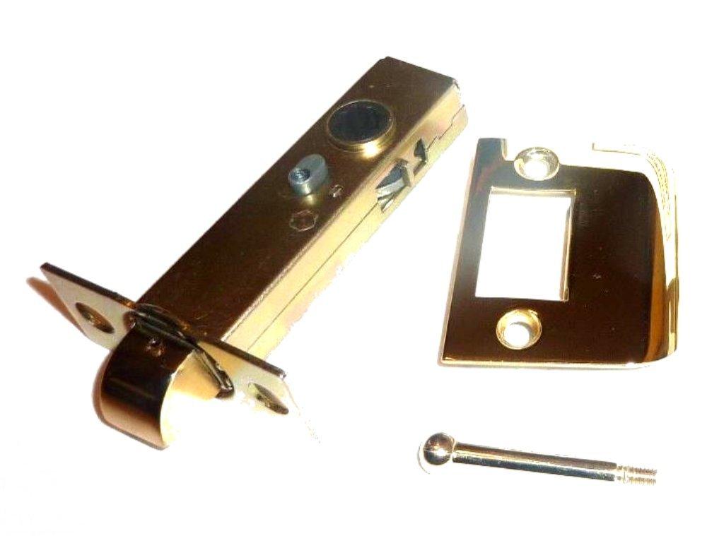 Solid Brass Face Plate Latch Set for Door Hardware 2 3/4? Back Set