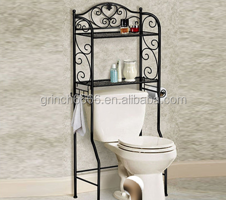 Wc regal badezimmer regal ber der toilette regal for Badezimmer regal uber toilette