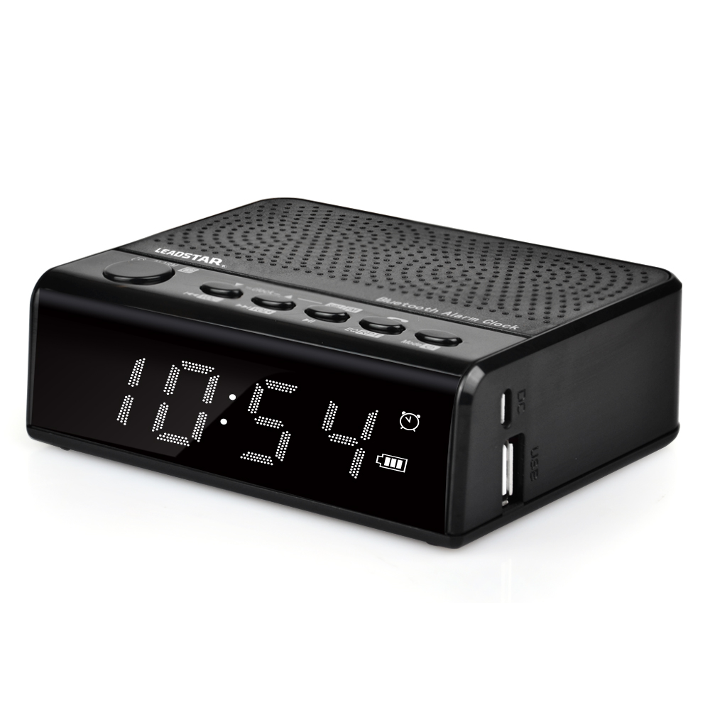 Newest Portable 6-12 Hours Music Playing Time Cd Clock Radio