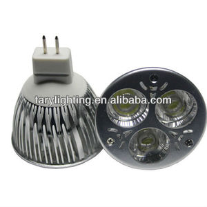 led spotlight 3x2w MR16 CE rohs high lumen