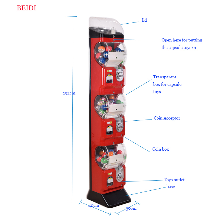 capsule toy machine game machine factory price