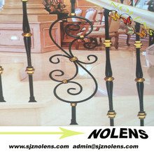 Firm And Easy To Install Railings Stairs Type and Outdoor Usage Cast Iron Spiral Staircase