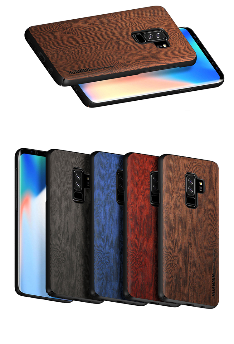 Wood Pattern Mobile Phone Case Cover,Mobile Phone Cases Back Cover For Samsung S9 Plus