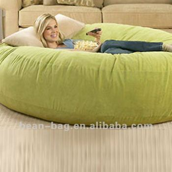 Large Foam Filled Bean Bag Sofa Sleeping Bag Sofa