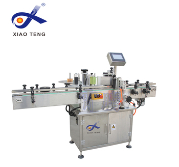 cone/conical bottle label machine