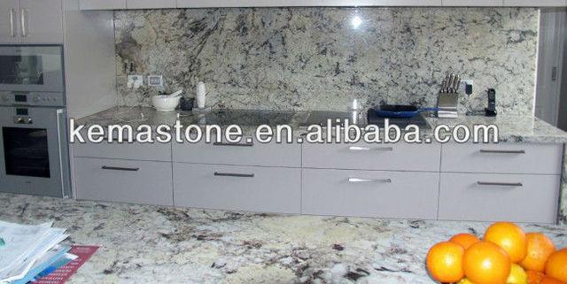 Ice Blue Granite Kitchen Countertops