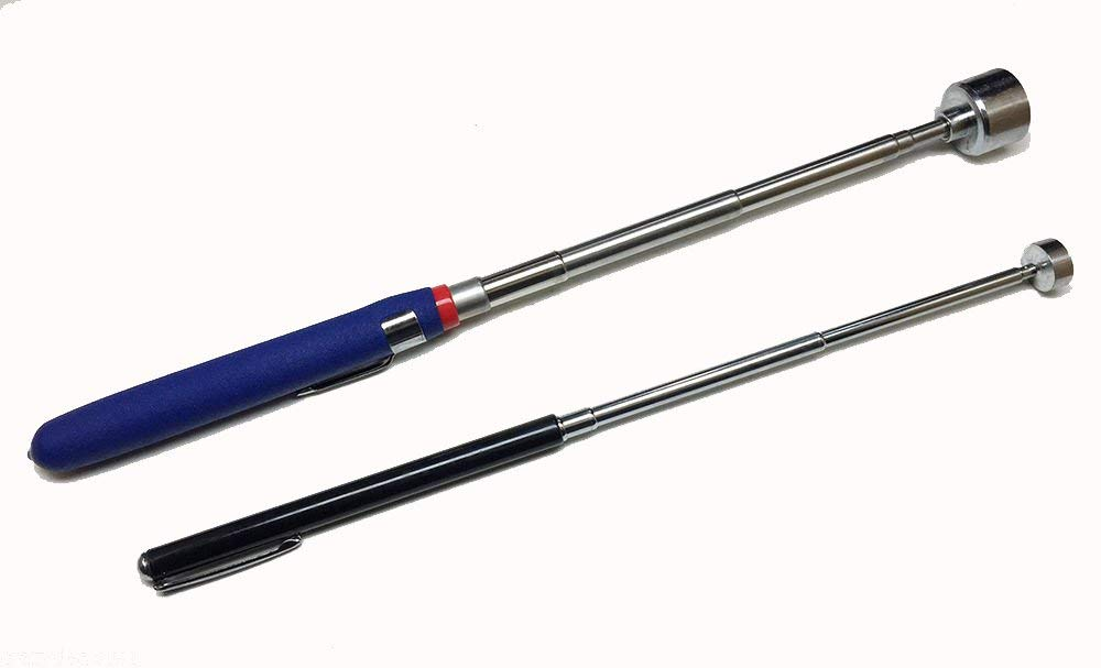 3 Lb Telescoping Magnetic Retriever Grabber Tool with Clip Pick Up Tools 12-49cm