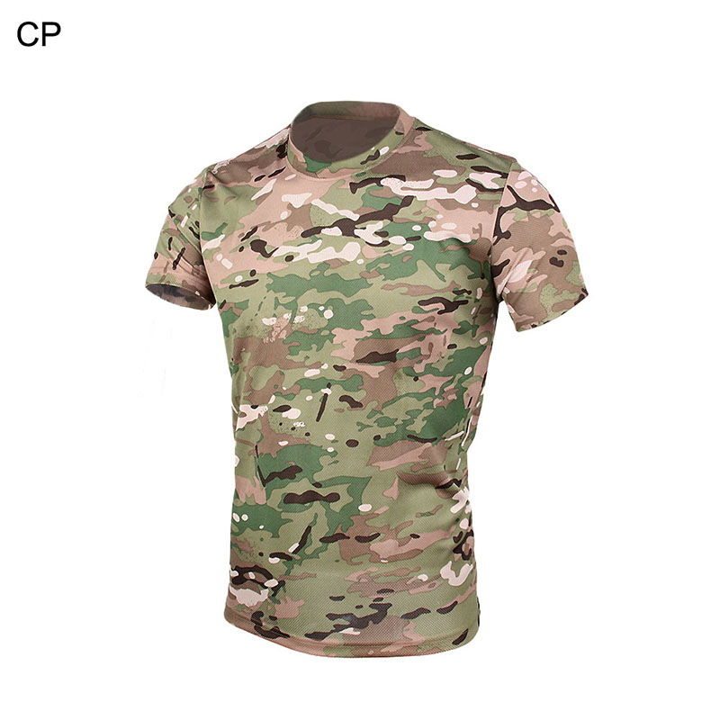 Tactical military army combat CAMOUFLAGE T-SHIRT multicam army uniform