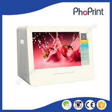 human interactive 21.5 inch full hd lcd advertising player photo machine