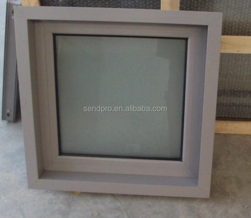 Aluminio Enmarcado Baño De Cristal Esmerilado Windows Fábrica En ...