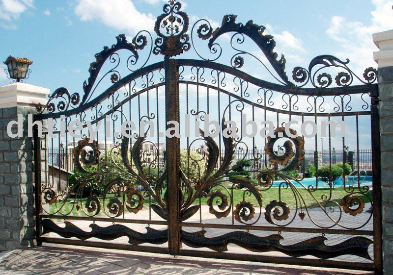 Ornamental Wrought Iron Gate View Duanhai Product Details From I Machinery Co Ltd On Alibaba