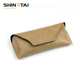Eyeglasses Accessories Soft Leather Pouch For Sunglass