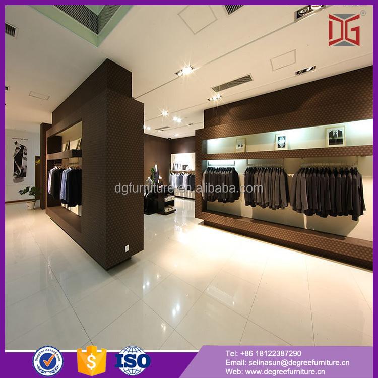 Glass Bar Top Wood Modern Shop Counter Design For Garment Store ...