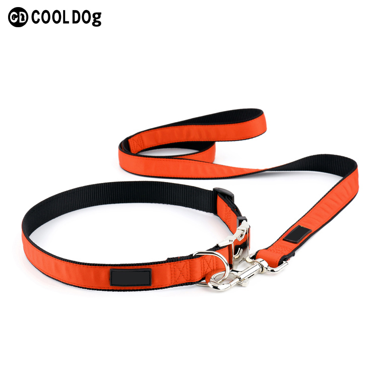 Classic Nylon Dog Collars Pet Solid Color Personalized Customization