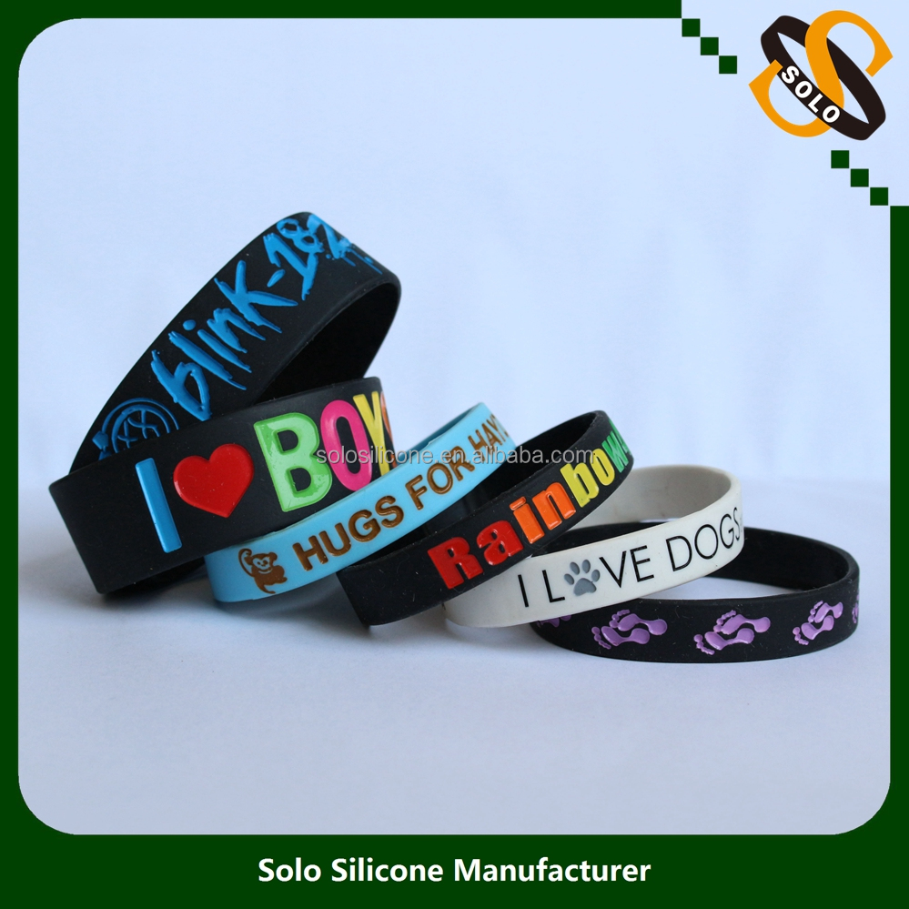 New Promotional Products Silicone Wristbands Premiums Gift