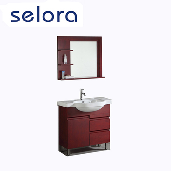 contemporary furniture wall bathroom cabinet with mirror for sale