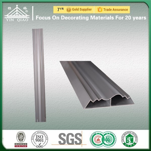 Solid Aluminum Mold For Contracted Plain Decorating Gypsum Cornice Moulding