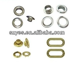 high quality replacement boot eyelets,snap fastener eyelets for sale