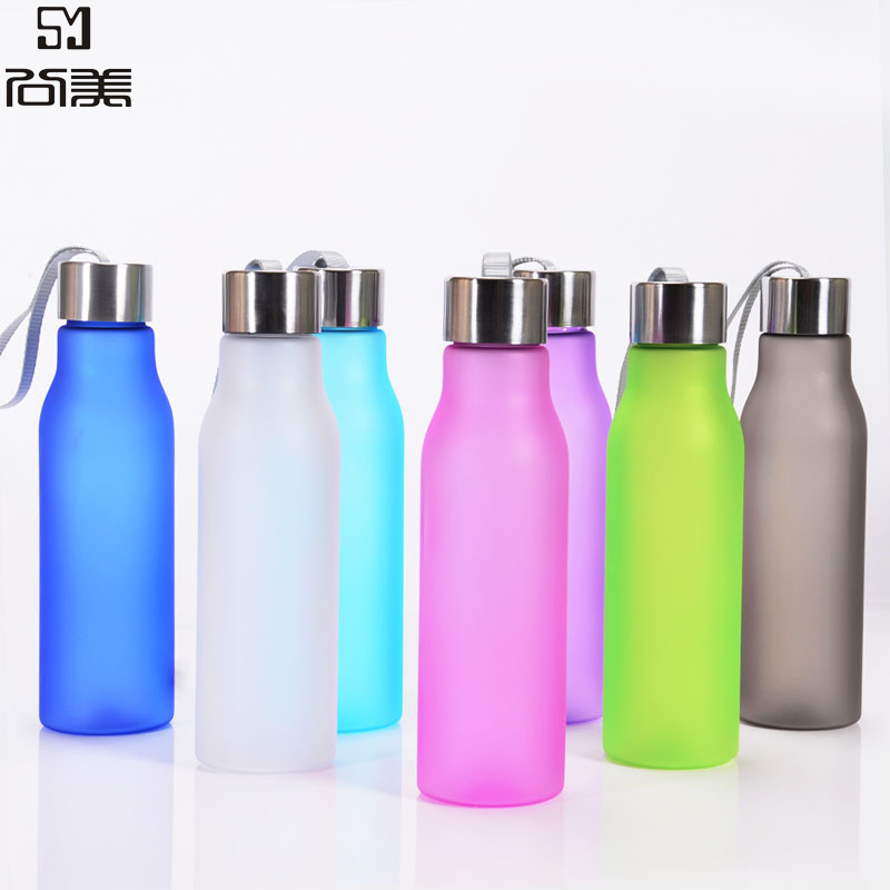 Changing Color Long Hot Advertisement Water Bottle