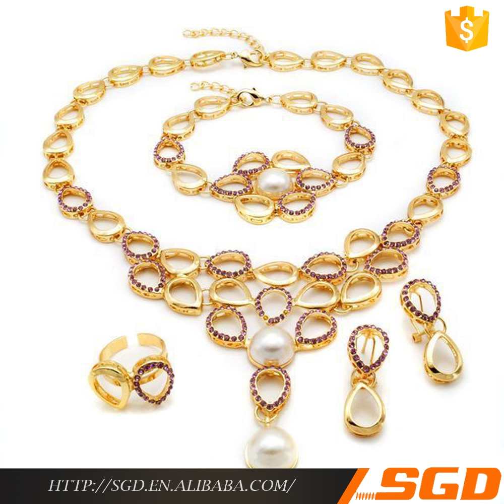 crystal avenue wholesale women gold bridal pearl orjewelry israel