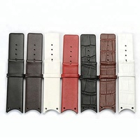 Wholesale watchband 22mm genuine leather watch strap watchband pin buckle crocodile pattern watch band