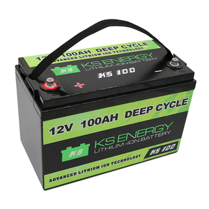 Deep Cycle Lifepo4 Battery Pack 12v 100ah Lithium ion Battery for Solar System/Motor Home/Boat/Golf Carts and Car