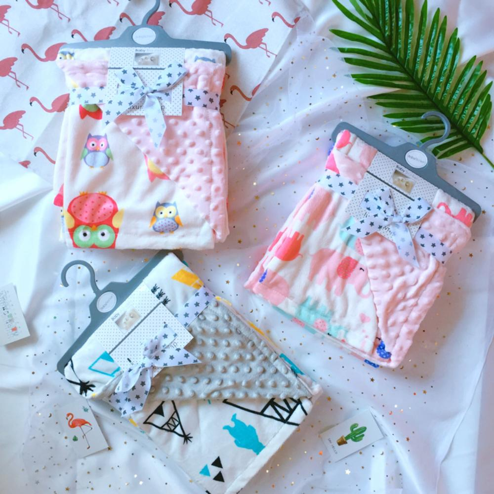 high quality wholesale hot minky blanket <strong>baby</strong>