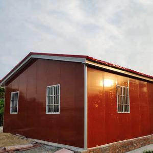 Cheap prefab a frame house kits Portable steel Prefabricated log cabin kits prefab small house