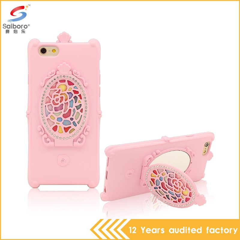 Customized unique design shockproof silicon soft case for iphone 6s