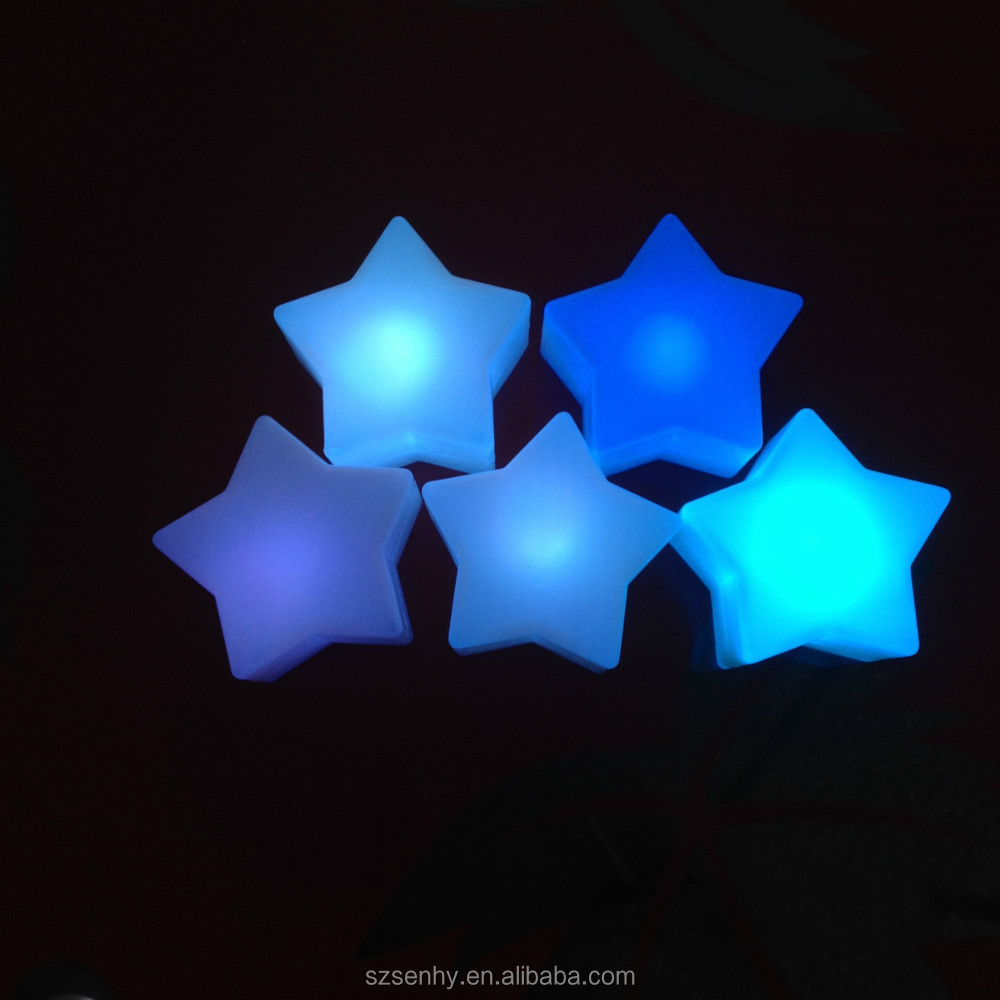 Lovely Star Shaped Led Light Small Battery Operated Christmas