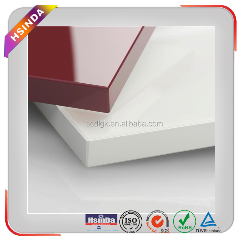 SGS Certificate Ultra Low Bake Powder Coating Paint on MDF and wood products