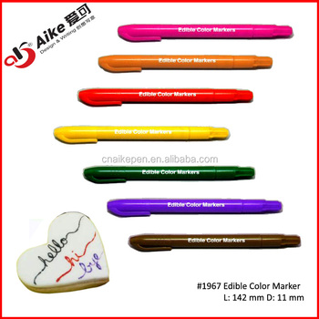 Edible Pen Food Coloring Marker For Cake - Buy Window Marker Pen ...