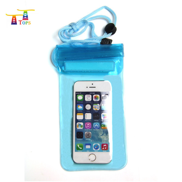 beach fashion waterproof mobile phone carry bag