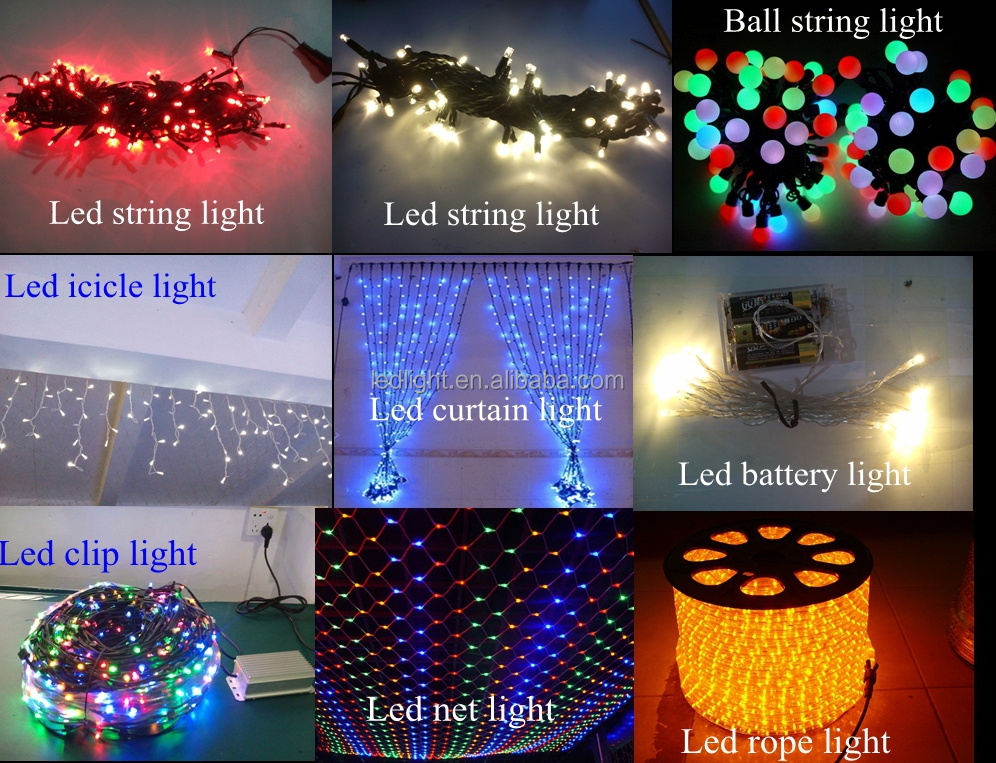 12v Led Garland Clip Light For Christmas Decorative Light Rgby ...