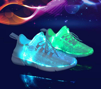 Christmas unisex rechargeable light up shoes for adults led trainers with light