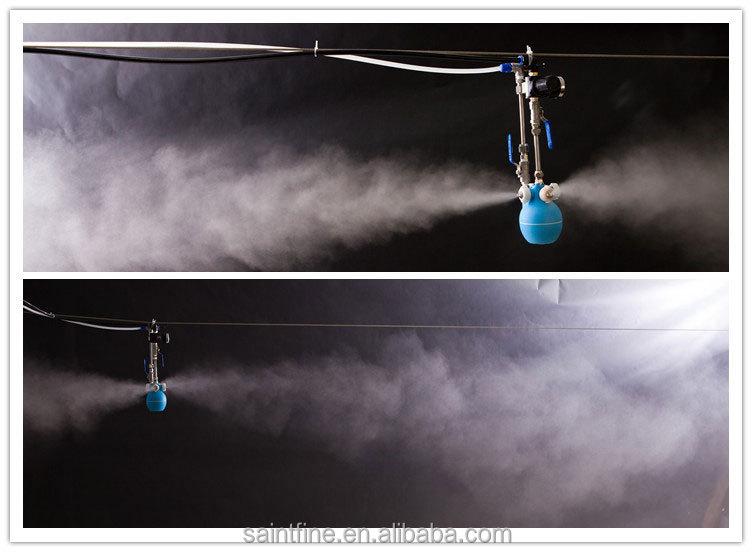 Four Way Low Pressure Misting System Dry Fog Misting