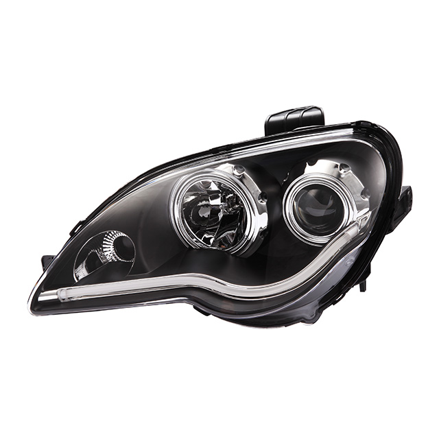 CCC CE E-Mark Car Styling Top Quality ABS Wholesale Led Angel Eye Proton Gen2 Auto Parts 12v Car Headlight