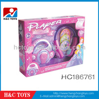 Promotional Girls toy B/O Music CD Player,Toy CD Player HC186761