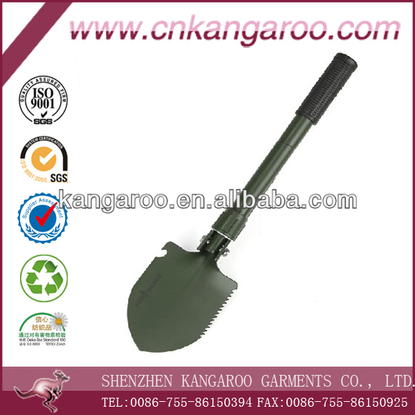 Multi-fonction Folding Military Shovel With Compass