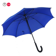 23 inch 8 panels fiberglass ribs cumtom made long hook handle umbrella
