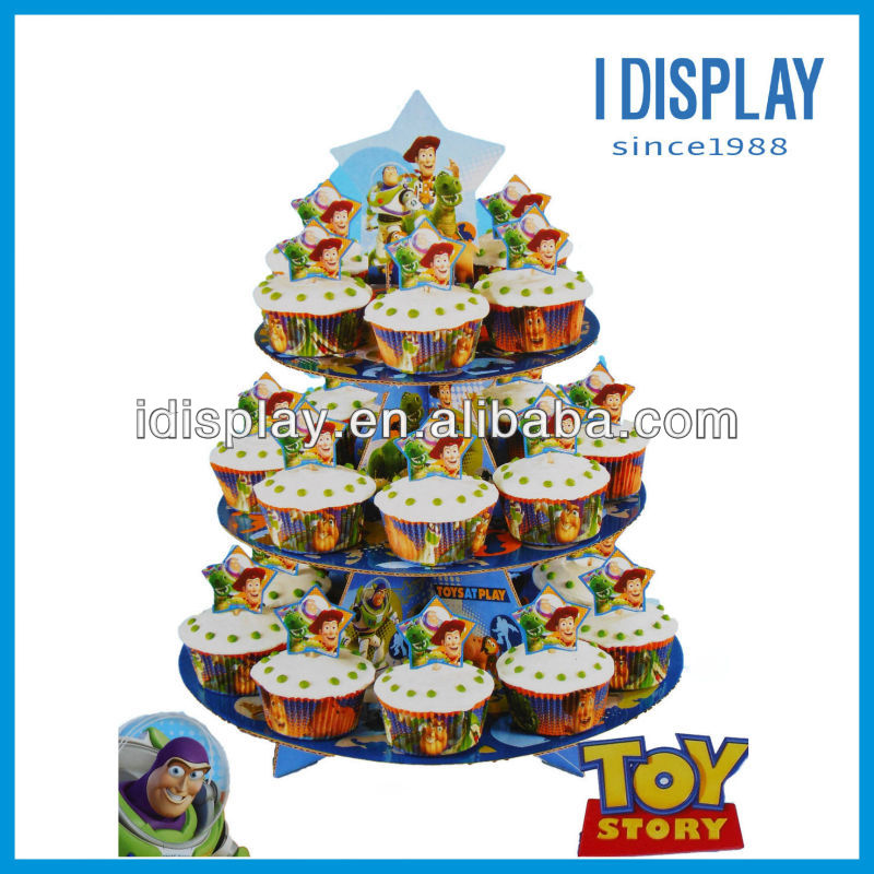 Wilton Toy Story cupcake stand template