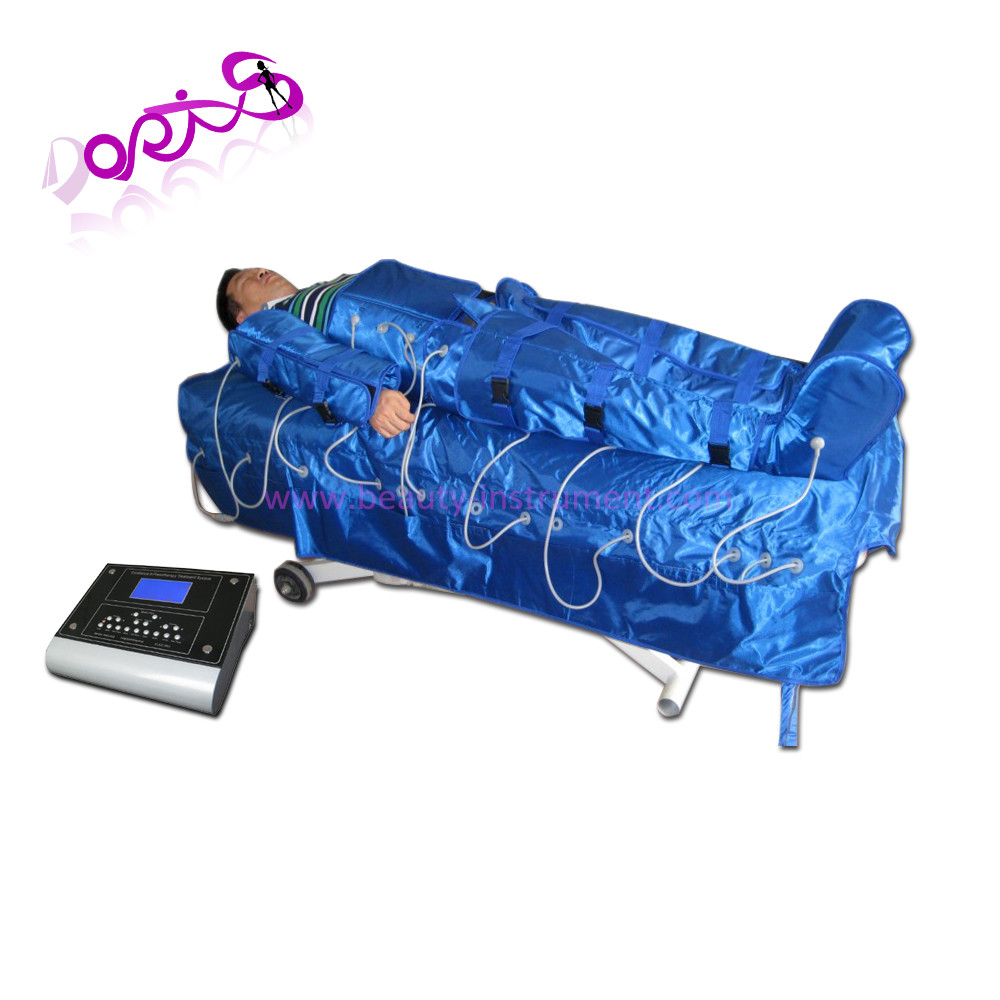 Top sale 3 in 1 Pressotherapy+Far Infrared+EMS Slim Sauna suit DO-S04-2