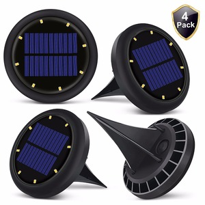 Outdoor solar garden light lithium battery pillar solar light for garden