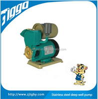 Self-priming clean water pump for hot&cold water