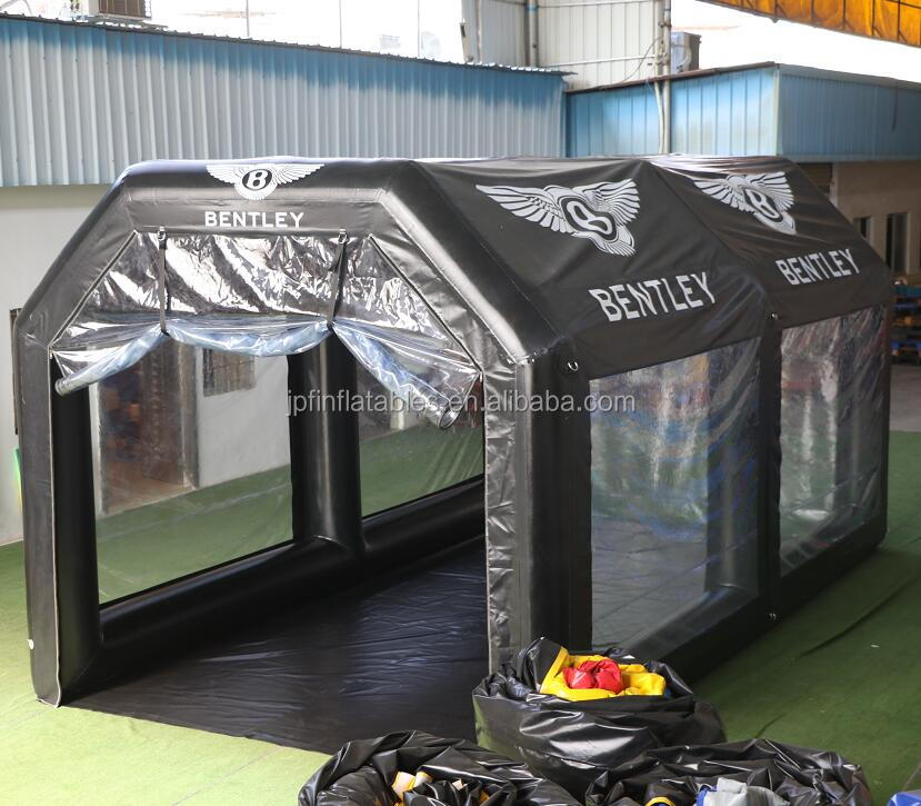2019 Air constant New arrival car spray inflatable paint booth tent with filter system for sale