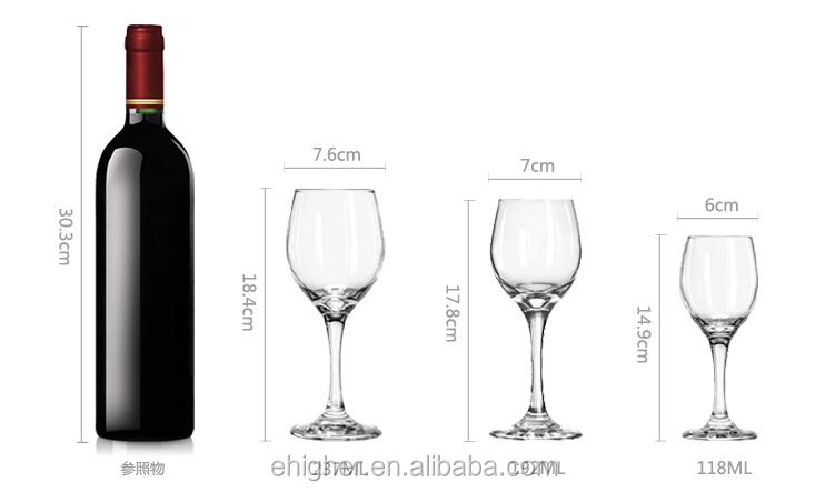 Elegant Wine Glass View Libbey 3060 Perception 20 Oz