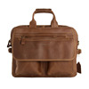 High Fashion 15 inches Laptop Bag Men's Genuine Leather Handbag Lawyer Leather Briefcase 8951